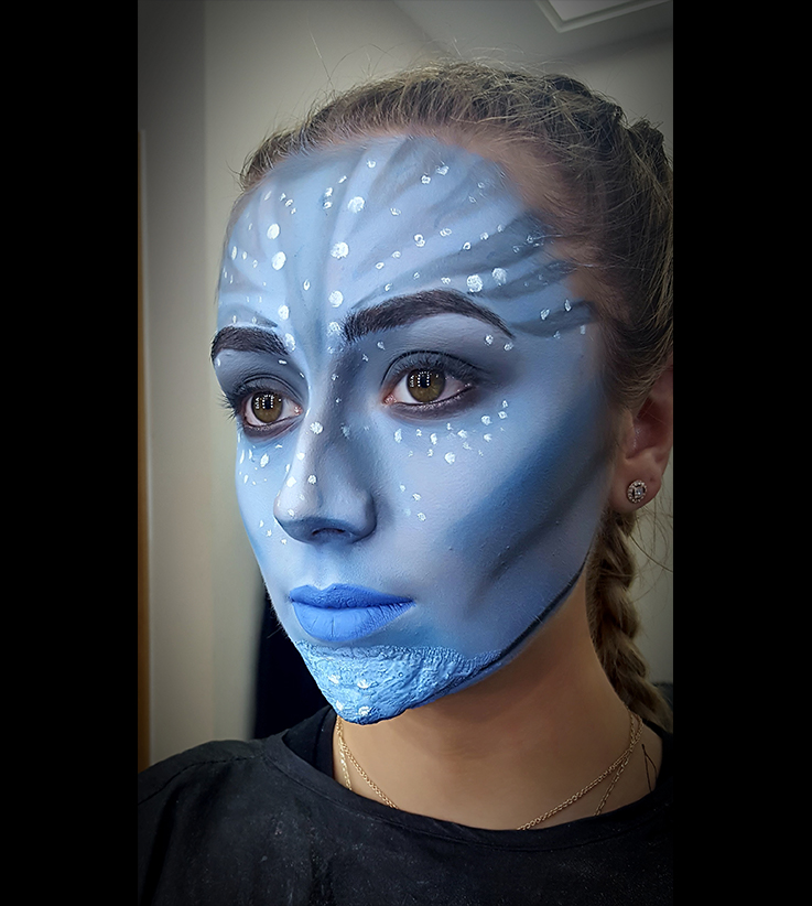 Level 3 Diploma in Hair and Media Make-Up: Theatrics and Special Effects - West Herts College