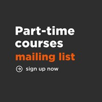 Part time courses mailing list square png