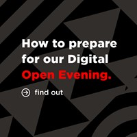 Digital open evening how to prepare square png